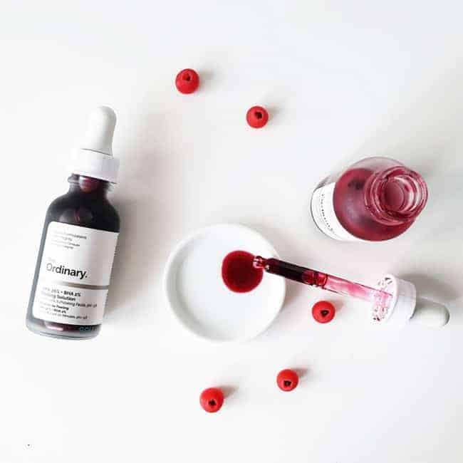 Tinh chất peel da tẩy tế bào chết hóa học The Ordinary AHA 30% + BHA 2% Peeling Solution